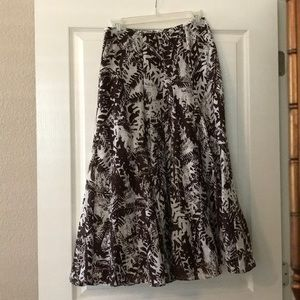 Light weight summer lined skirt